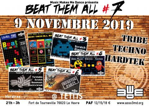 Beat Them All #7 - Flyer by Tybografik